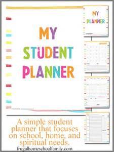 mom   seasons homeschool student planner