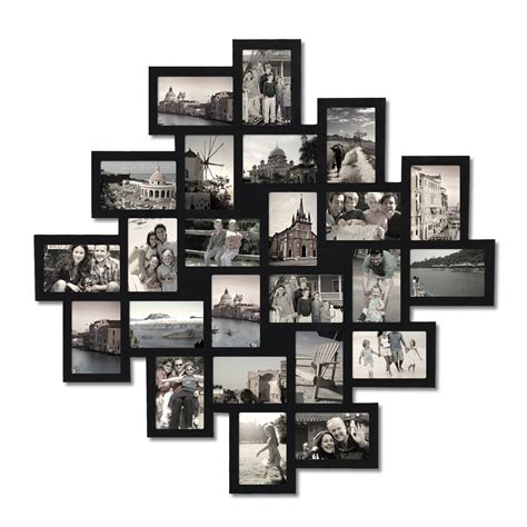 Bilderrahmen Collage Wand by Adeco 24 Opening Collage Picture Frame Pf0552