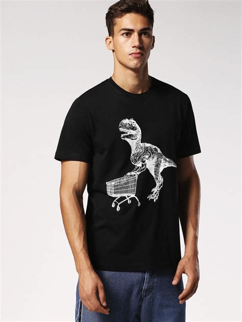 Black Shirts - Diesel T-JOE-RU Mens Black ⋆ La fée des blogs