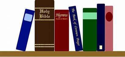 Books Transparent Clipart Background Bible Shelf Illustration