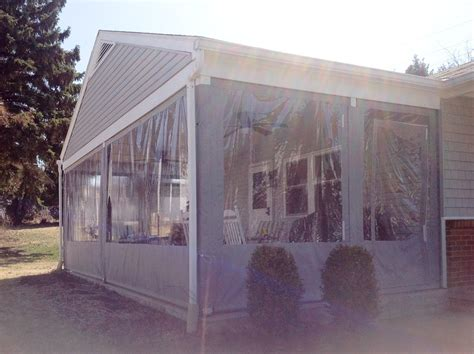 porch awnings  vertical shades berks county reading pa  castle lawn  landscape