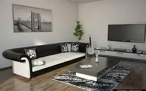 Living Room Black And White by andrej šenveter