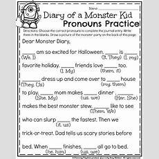 October First Grade Worksheets  Best Of Halloween  Kindergarten & First Grade  First Grade