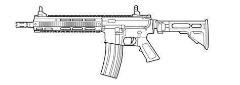 Easy Gun Drawings Picture
