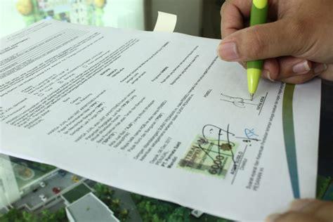 contoh surat pernyataan jual beli tanah  bangunan