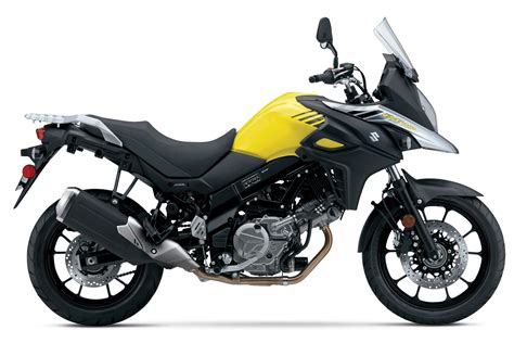 2017 Suzuki V-strom 650 In Yellow