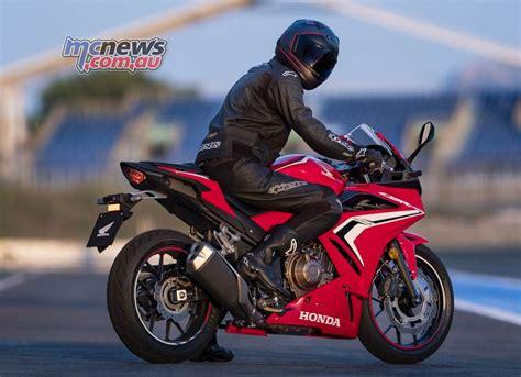 2019 honda cbr500r more grunt sharper looks mcnews com au