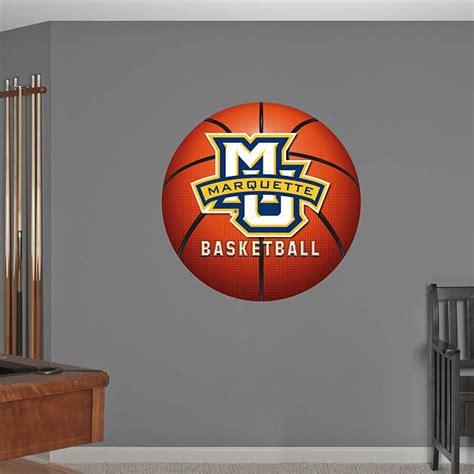 marquette golden eagles basketball logo wall decal shop