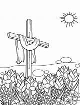Coloring Cross Easter Pages Printable Catholic Cool Crosses Drawing Garden Cool2bkids Easy Getdrawings Getcolorings Crucifixion Rocks Paintingvalley sketch template