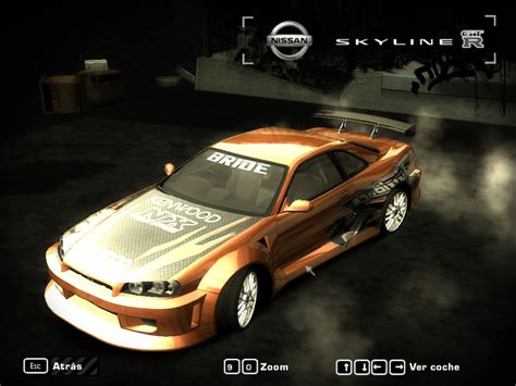 speed  wanted  nissan skyline gtr