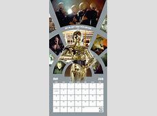 Star Wars 40Th Anniversary Calendars 2019 on UKposters