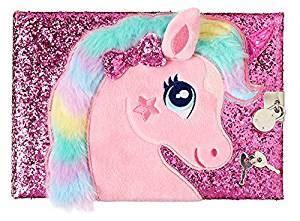 Smiggle Lockable Journal   Sparkle Pink Unicorn: Amazon.co