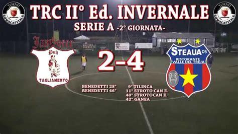Trc Ii° Ed Invernale  Ca8  Serie A 2° Giornata Atl