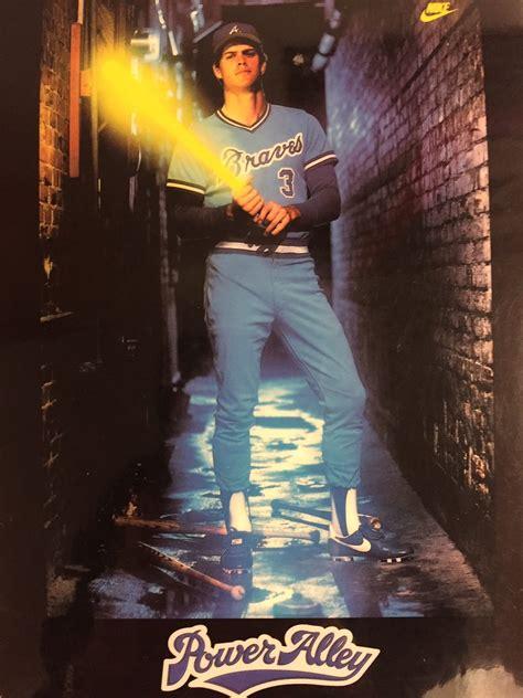 dale murphy braves atlanta power alley poster baseball hall fame years sports field even children mlb right oregon bat