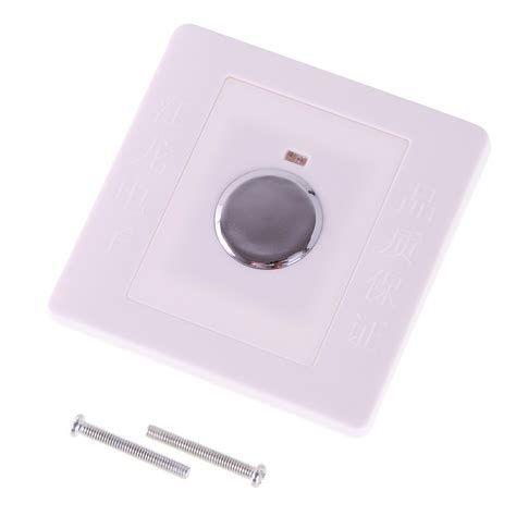 wall mount touch sensor switch finger sensitive energy