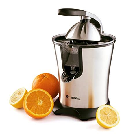 juicer grapefruit citrus juicers motorized eurolux stainless steel