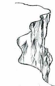 How to draw cliff