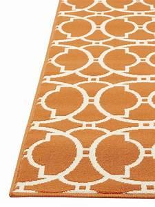 Teppich Für Balkon : outdoor teppich f r terrasse balkon vitaminic interlaced orange 160 230 cm teppich indoor ~ Whattoseeinmadrid.com Haus und Dekorationen