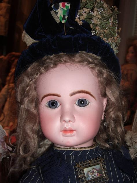 Hair Implants Shawnee Mission Ks 66279 All Original Steiner Antique Doll With Couture