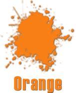 flash cards orange color for exle orangefruit