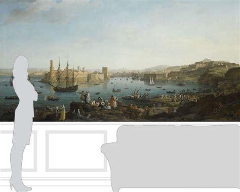 la port de marseille joseph vernet papier peint