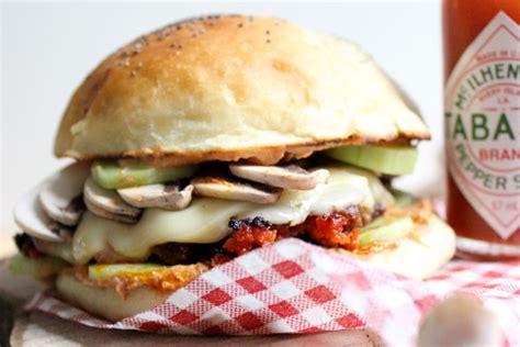 Burger Piquant Ricotta & Légumes  Blogs De Cuisine