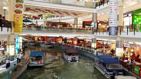 Ship Mall by Cruise Ride The Mines Shopping Mall Malaysia 4k