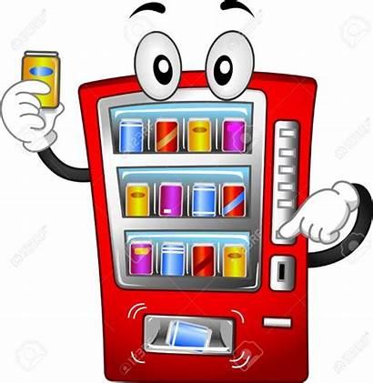 Vending Machine Cartoon Illustration Mascot Featuring Login