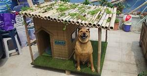 tiki hut dog house how to build a tiki style dog house With tiki dog house