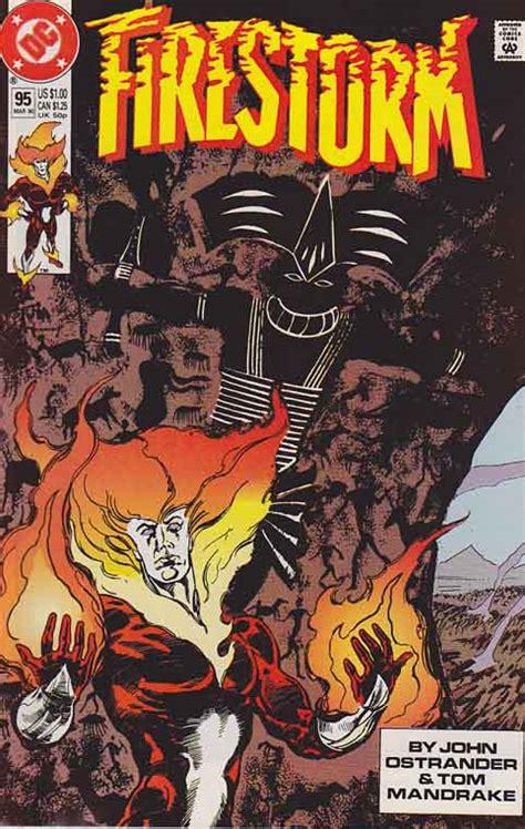 The Fury Of Firestorm  The Nuclear Man Dc Comics 19821990