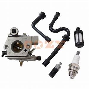 Chainsaw Parts For Stihl 026 Ms 2ms26060 024 Ms240 Carburetor Carb Fuel Line Filter High Quality