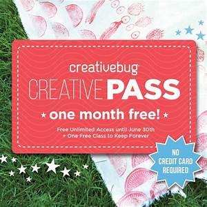 handmade by stefanie: PSST: Free Pass to Creativebug ...