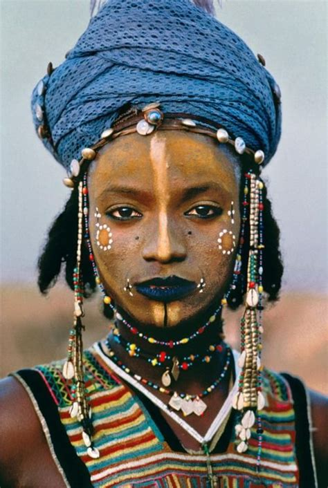 traditional african tribal make up (fulani/peul)   Ethnic/Cultural Makeup   Pinterest   Africans