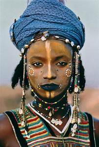 traditional african tribal make up (fulani/peul) | Ethnic ...