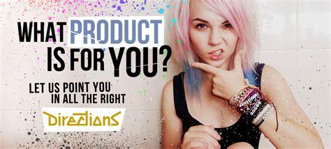 Directions Semi-permanent Hair Colour By La Riche