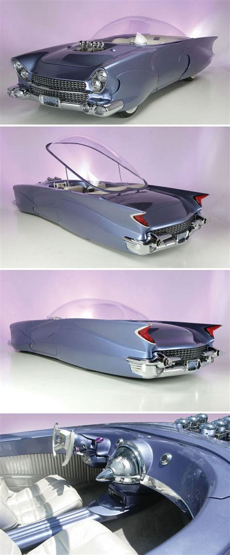 1955 ford quot beatnik quot bubbletop custom concept car re pin