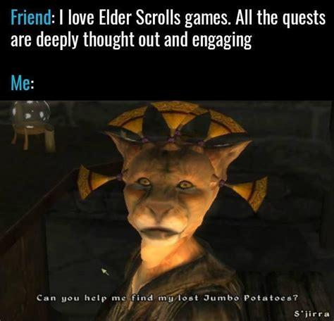 Elder Scrolls Memes - yes yes i will rebrn com