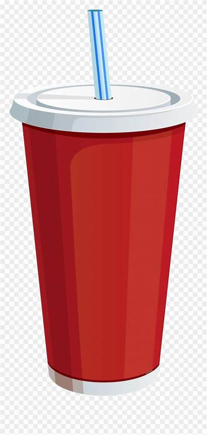 Soda Cup Drink Clipart Plastic Clip Soft