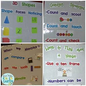 Number Bond Anchor Chart Mrs Wills Kindergarten Kindergarten Math Workshop