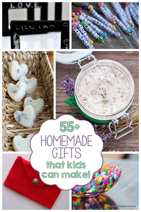 make christmas gifts 55 homemade gifts kids can make