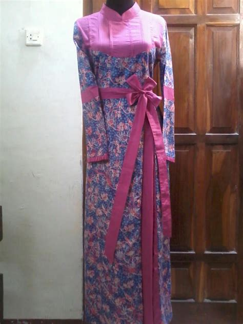 konveksi seragam kerja solo dress batik size  rb