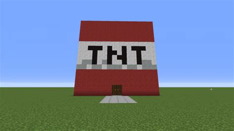 tnt house minecraft project