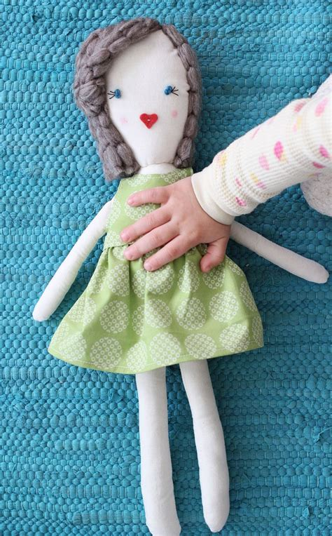 traditional rag doll diy  beautiful mess
