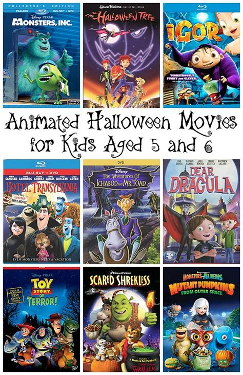 family friendly animated movies  halloween