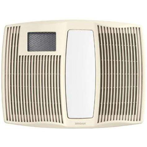 Bathroom Exhaust Fan Light Heater by Broan Qtx110hl White Ultra Silent Bathroom Exhaust Fan