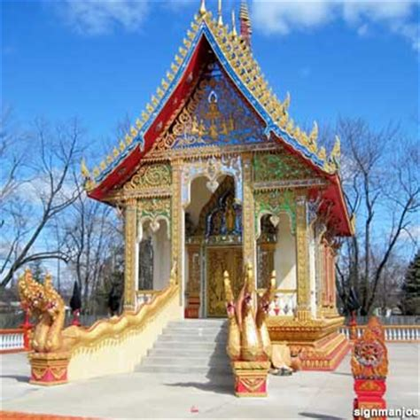 columbus  colorful buddhist temple