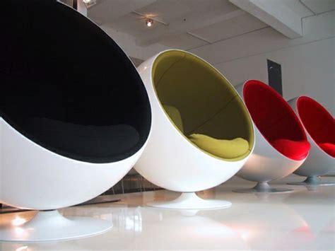 chaise ronde le fauteuil boule un meuble de déco et de détente