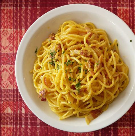 cuisine italienne facile recette des pates a la carbonara 28 images recettes de