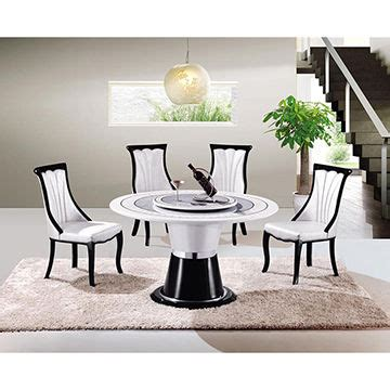 home design exquisite rotating dining hot sale home luxury rotating marble dining table