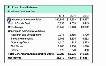 Profit Statement Loss Revenue Simple Costs Guide